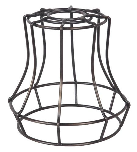Jeremiah by Craftmade Design-A-Fixture Cage in Aged Bronze