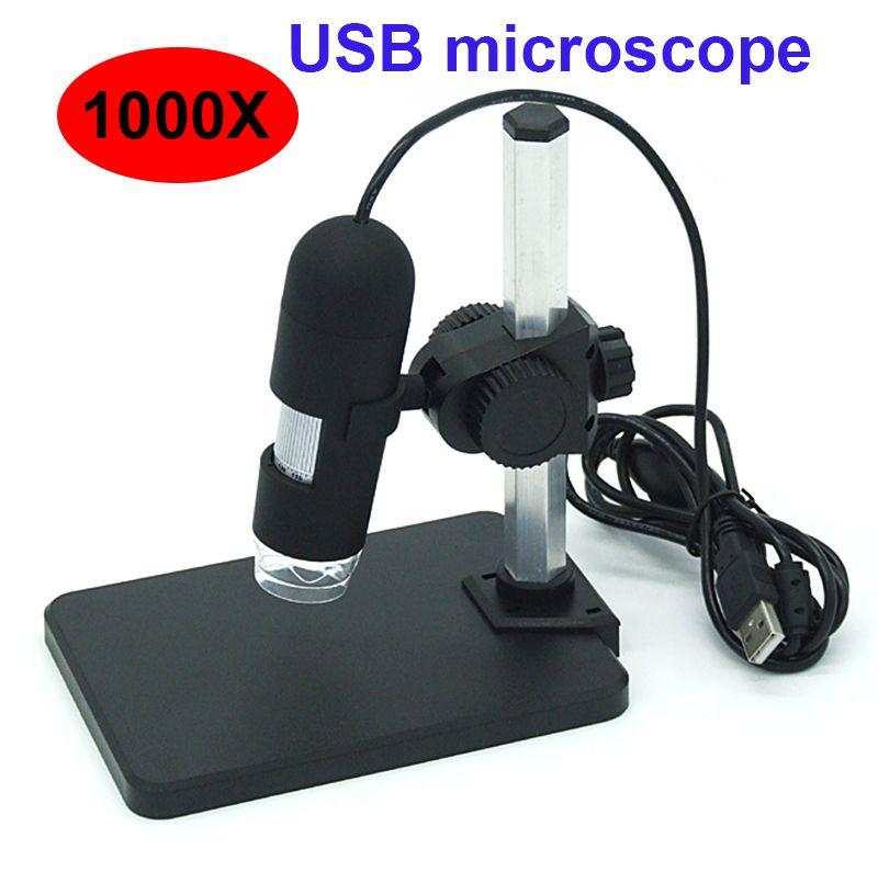 1000X Digitale microscoop USB microscoop vergrootglas met 8 led ...