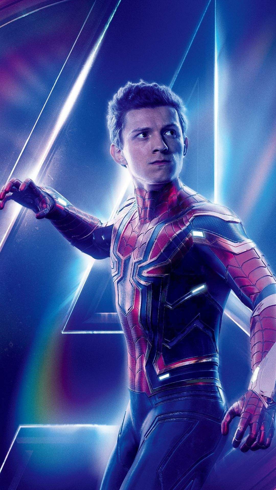 Wallpaper papel de parede 4k Spiderman infinity