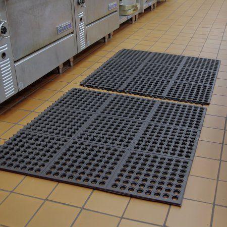 Mats Inc Cushion Safe Kitchen Floor Mat Black 3 X 3 With Images Kitchen Mats Floor Kitchen Flooring Kitchen Safe