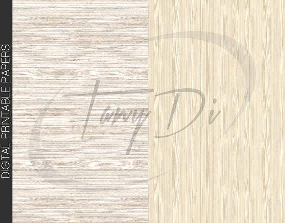 Latte Wood Grain Digital Papers Digital by TanyDiDesignStudio