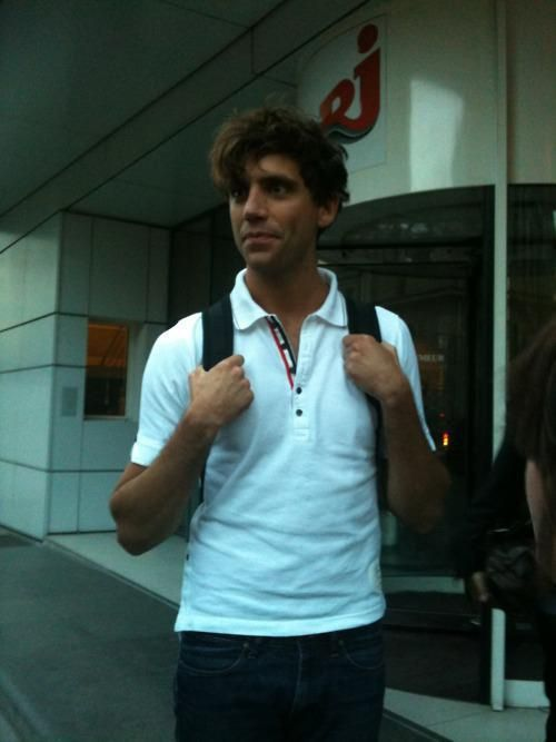 Mika NRJ in Paris France july 7 2011