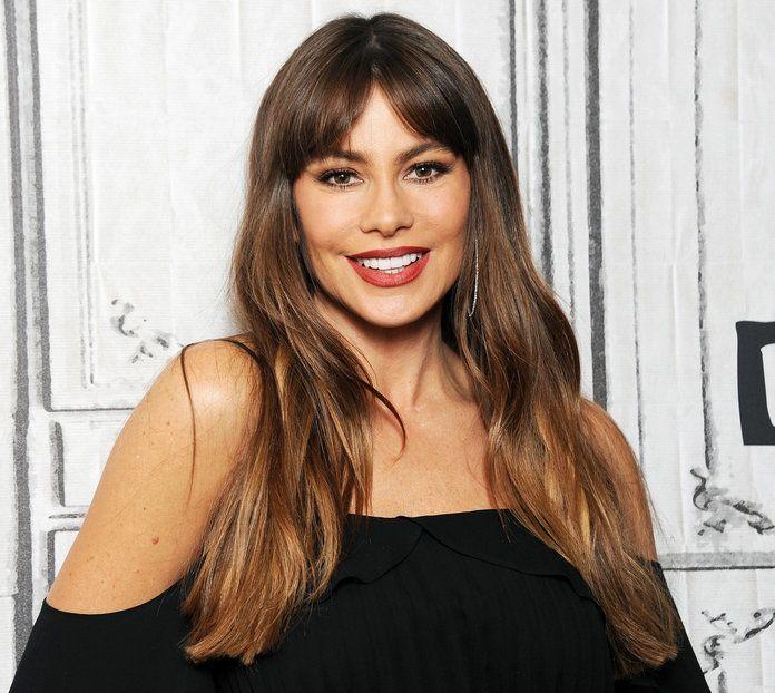 Daily Beauty Buzz: Sofía Vergara's Curtain Bangs