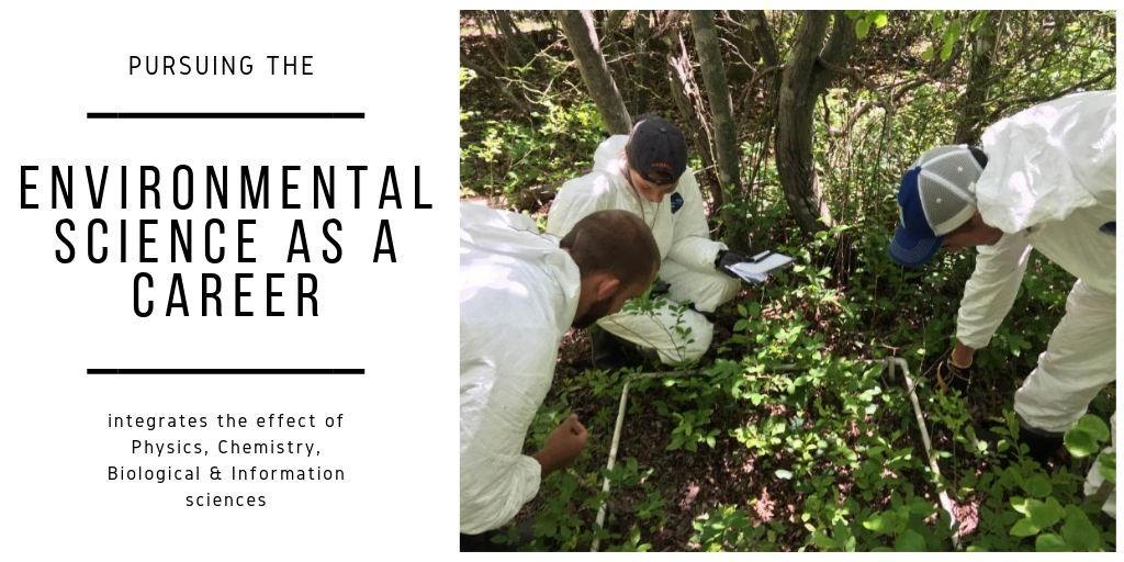 The environmental science mostly deals with the work on