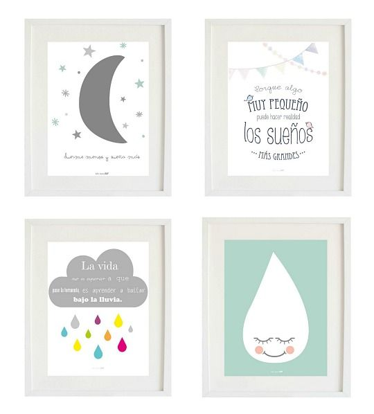 Cuadros de caramelos y chuches diy decoraci n baby - Cuadros originales para bebes ...