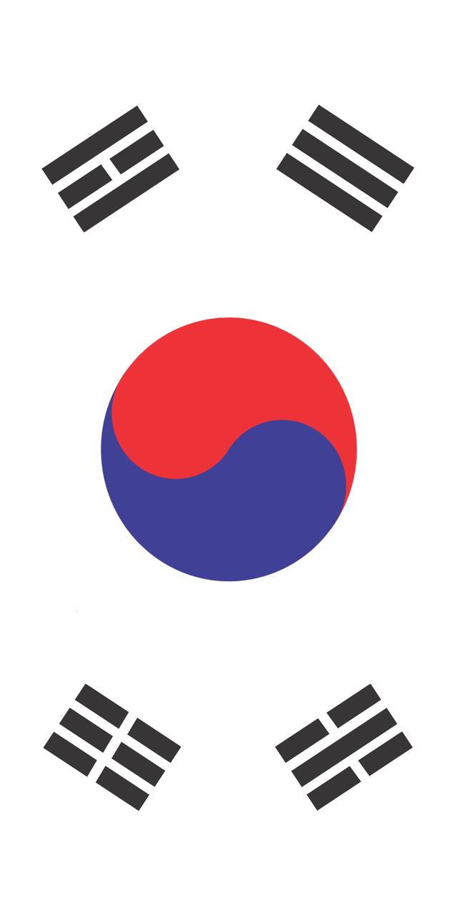 Vertical Flag Of South Korea Vexillology South Korea Historical Flags Vertical