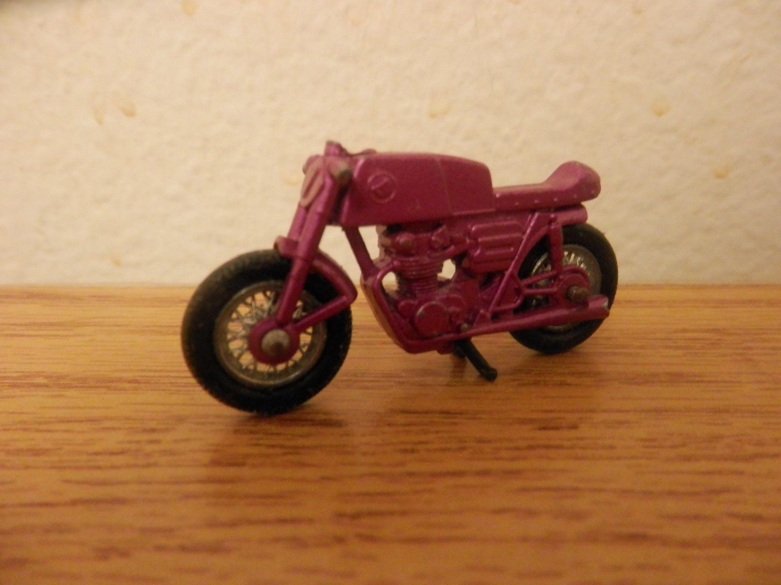 Car mirror hanging toys  RARE Vintage Purple Matchbox No  Honda Motorcycle Loose
