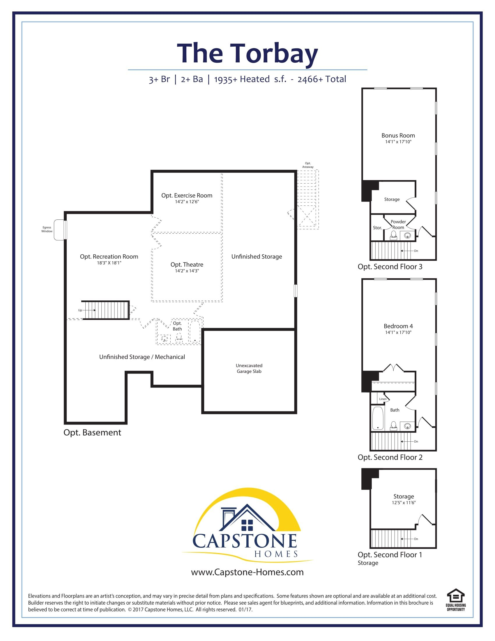 Pin by Capstone Homes on Single Family Ranch Floor Plans