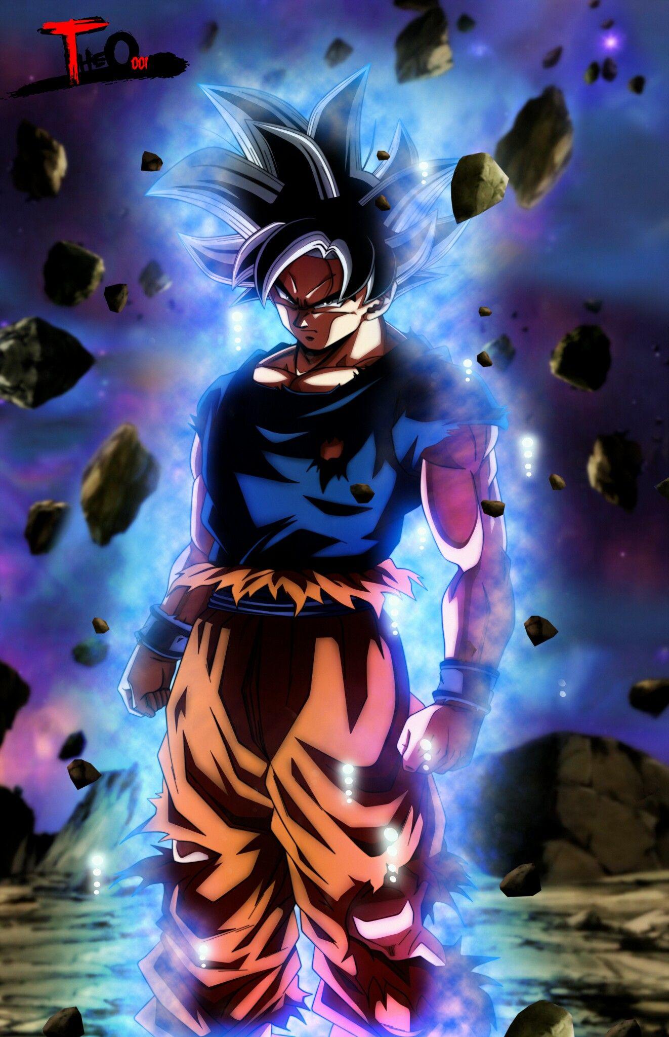 Goku Ultra Instinct Iphone X Live Wallpaper | Iphone Wallpaper