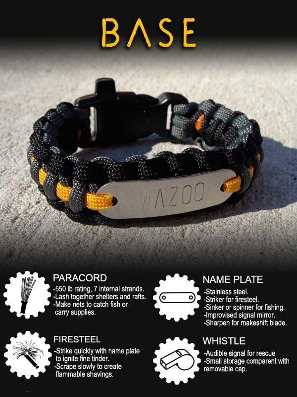 Survival In Style Check Them Out Www Wazoosurvivalgear Com