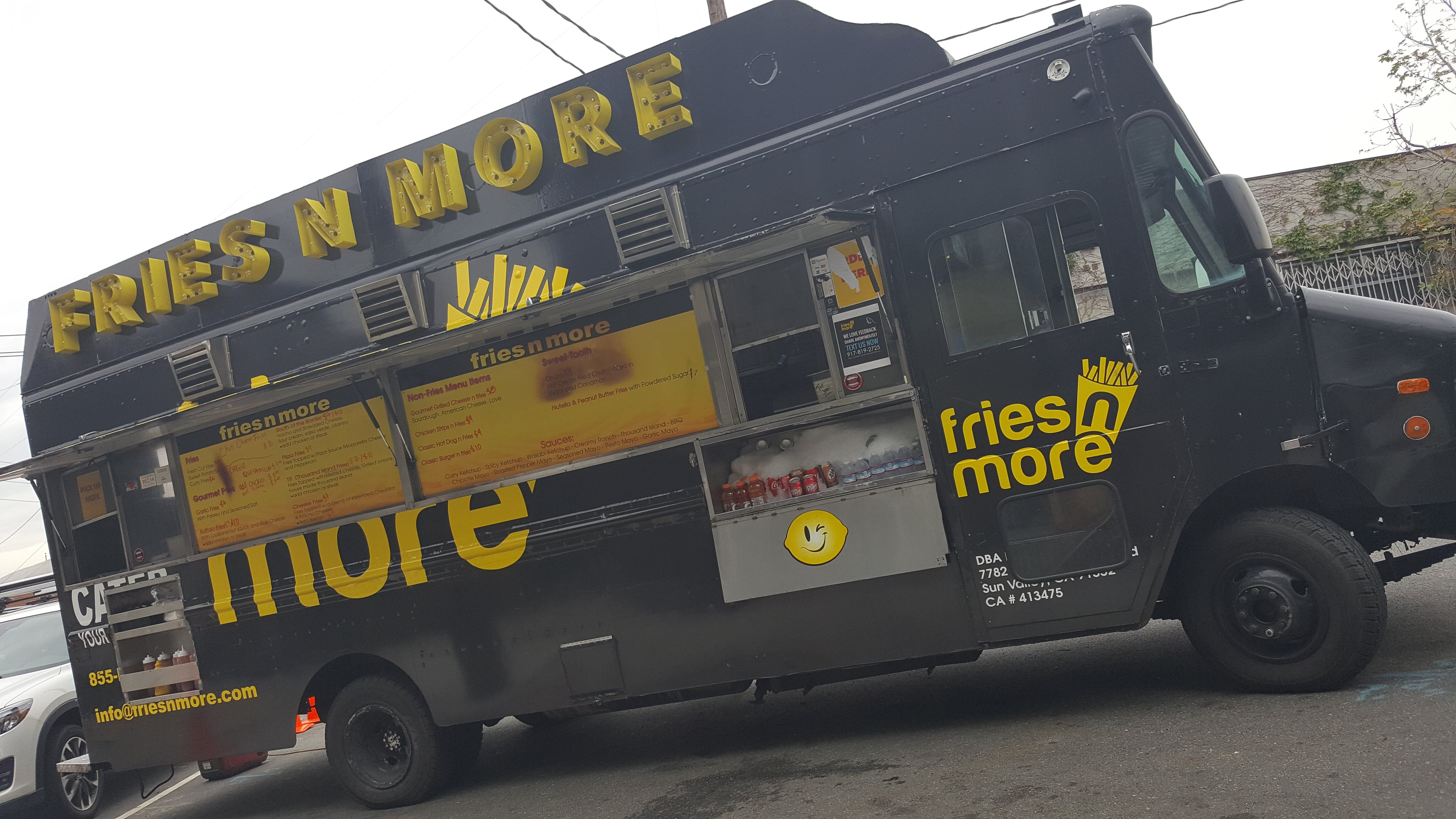 Friesnmore is the street food truck in la when it comes to