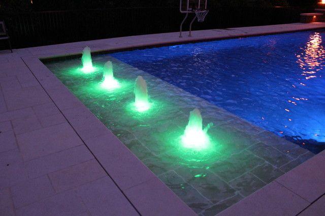 Nice Bubbler Pool | pool | Spa lighting, Luxury swimming ...