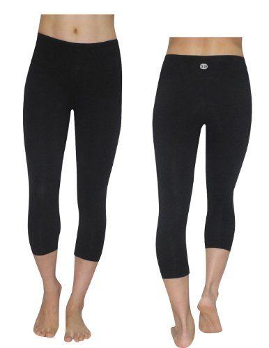 6af0ccae23c74 Amazon.com: Balance Collection (By Marika) Womens Leggings / Yoga Capri  Pants Medium Black: Clothing