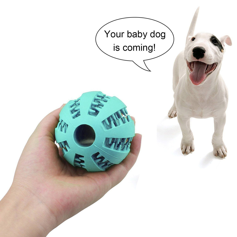 Pet Toy Treat Ball Dog Cat Interactive Food Dispenser Chew Ball