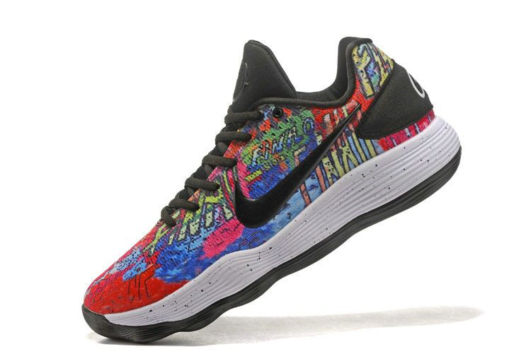e20a44da6d4 Newest Nike Hyperdunk 2017 Low Printed Graffiti Multi Color Mens Basketball  Shoes 2018 Wholesale