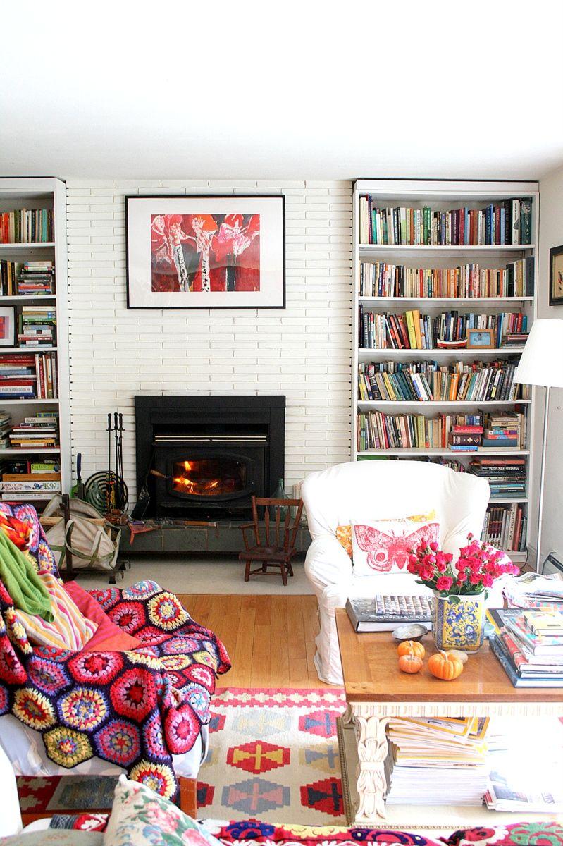Living Room Bibliotheque Deco Maison Salon Maison Y Maison