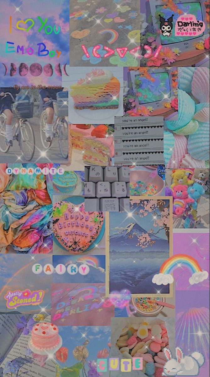 colourful aesthetic wallpaper