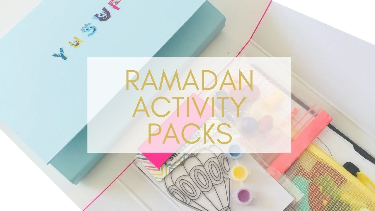 Create Your Own Ramadan Activity Packs For Kids About Islam Ramadan Activities Ramadan Activity Pack