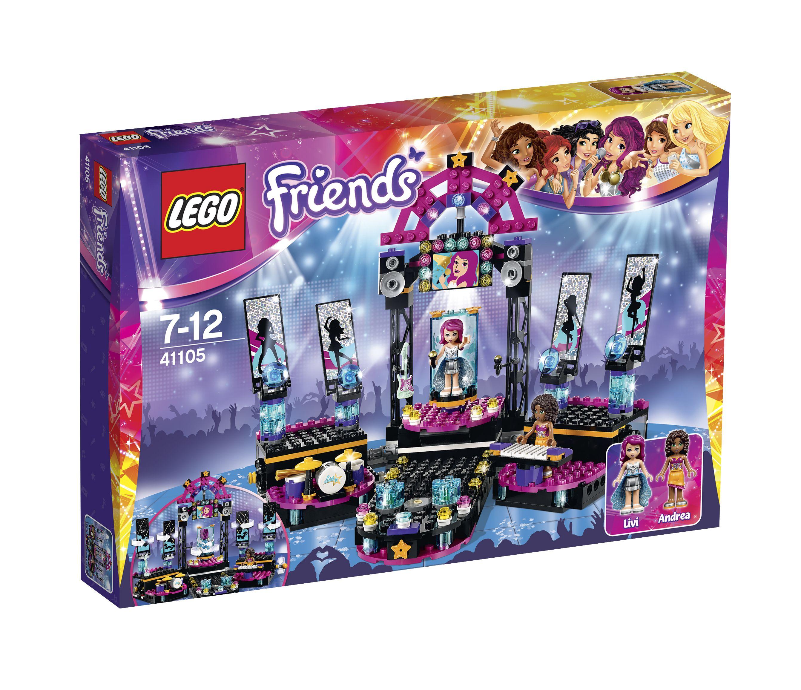 LEGO Friends Popstar Showbühne 41105 Verpackung