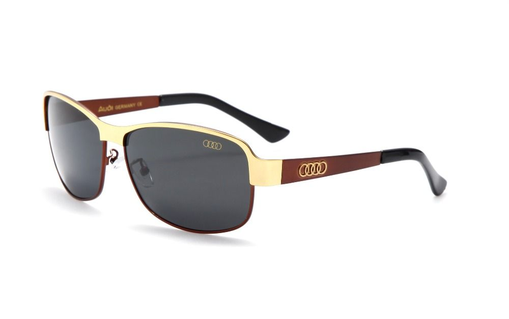 0298e2cb21f 2017 new Men Classic Brand Sunglasses AUDI Polarized alloy Driving Fashion  Classic Sun glasses Luxury Shades UV400 554