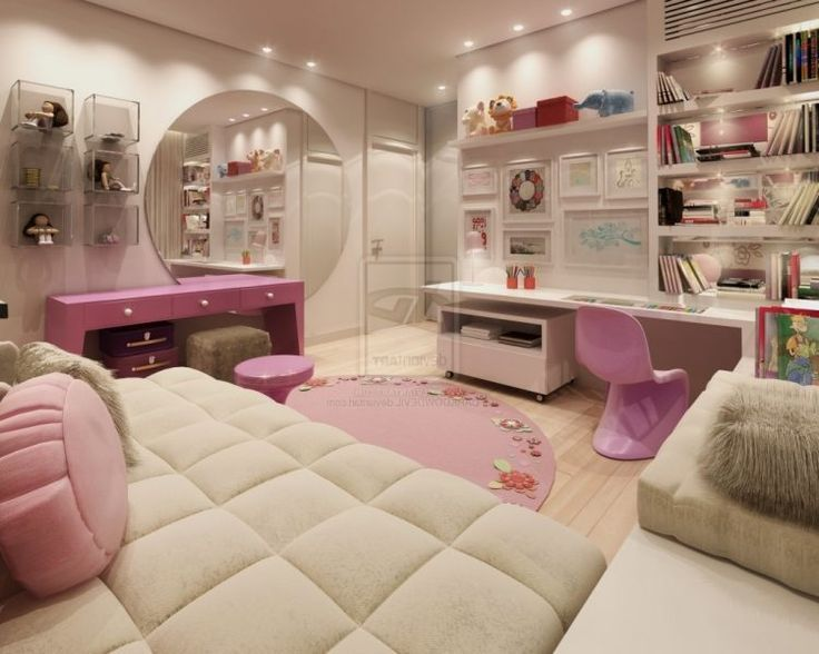 surprising rooms teenage girl bedroom ideas | 20 Of The Coolest Teen Room Ideas | Cool Bedroom Ideas for ...