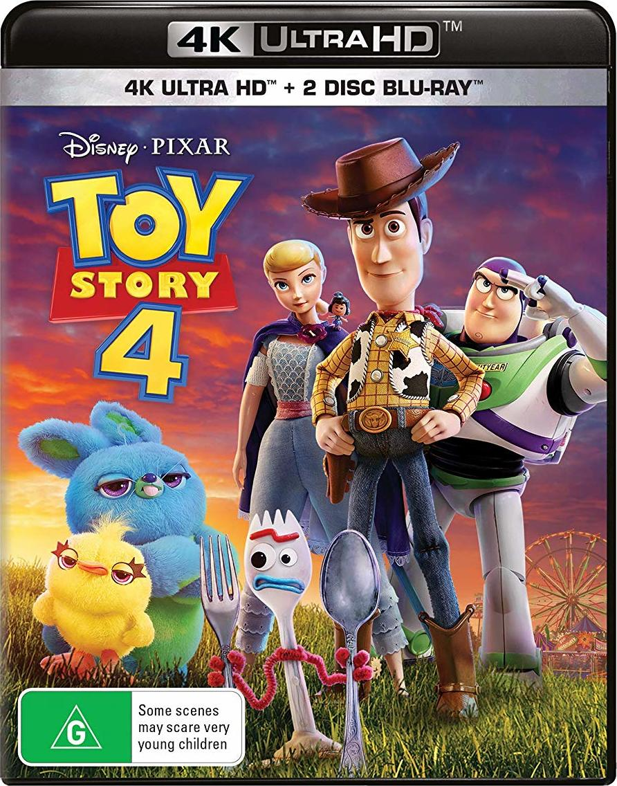 Toy Story 4 4K Bluray Release Date October 9, 2019 (4K