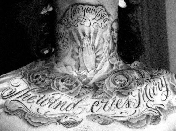 Yung Reckless Mister Cartoon If Tattoos Talk 05 570x424 Jpg 570