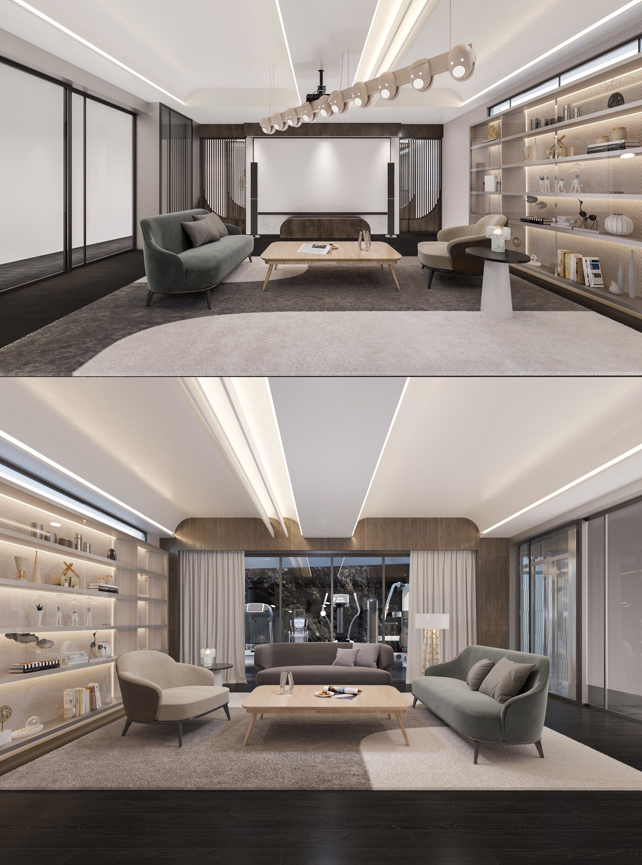 Pin On ديكور Decorative ceilings living room