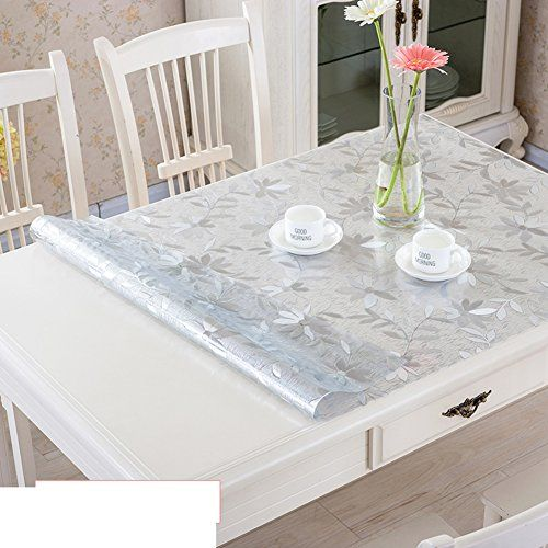 Pvc Table Cloth Waterproof Anti Oil Tablecloth Soft Glass