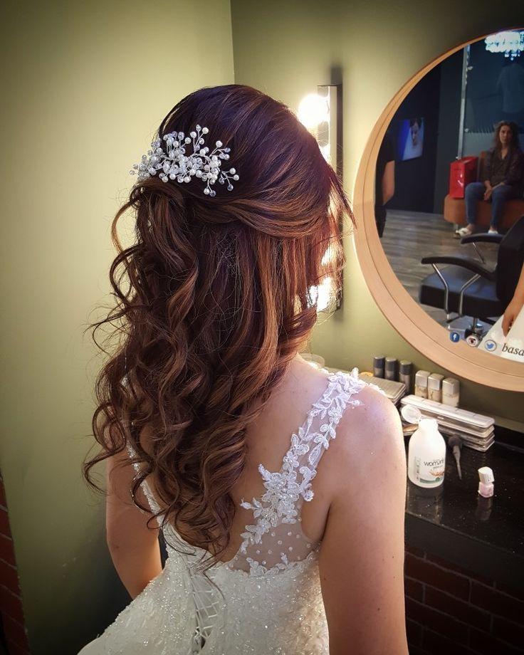 Photo of Bridal hair and make-up models 2017 www.basakkuaforma wedding dress wedding