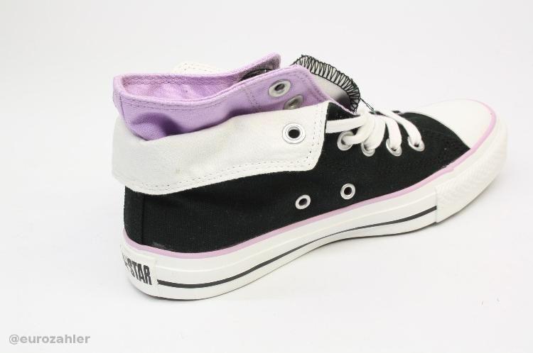 Converse 522219 CT TWO FOLD HI Sneaker Größe 38 BLK/Purple schwarz ...