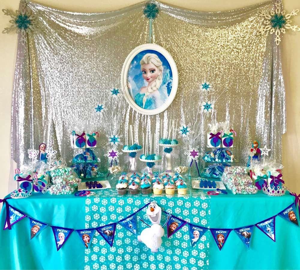 Fiesta de frozen para nina 2 decoraciones fiestas - Decoracion para cumpleano ...