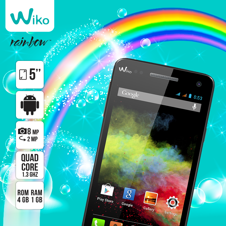 Repin if all you want for this year is a ‪#‎Rainbow‬! More at: http://goo.gl/AGZHL3 ‪#‎Wiko‬ ‪#‎UAE‬
