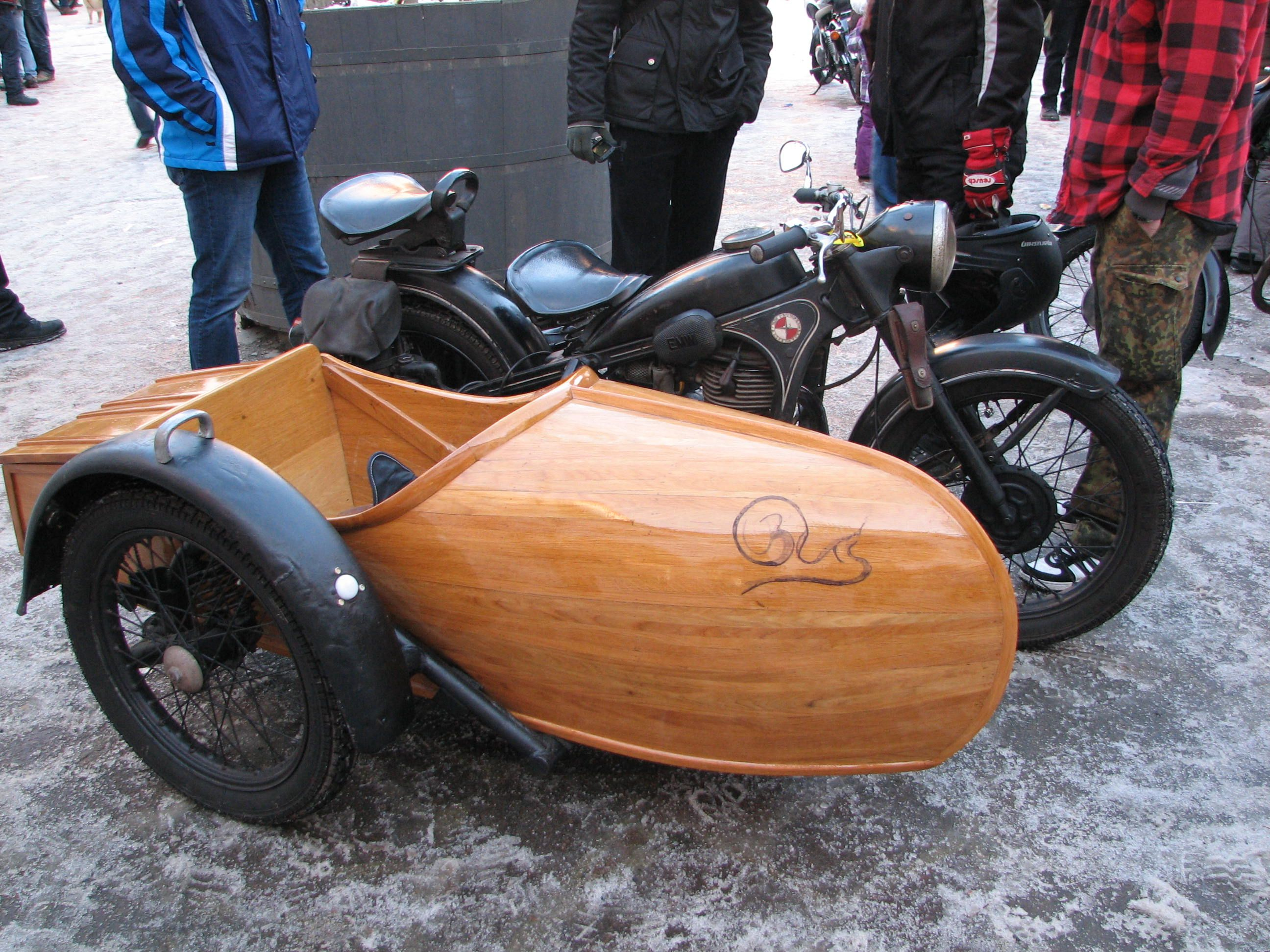 Wooden Side Car Photo By Dennis Crowder With Images Bike