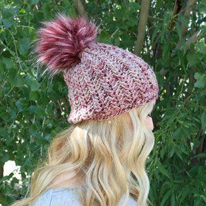 160f09264f4 Jimmy Beans Wool Boobie Beanie Hat Kit - Mindy s Mauve - Crochet