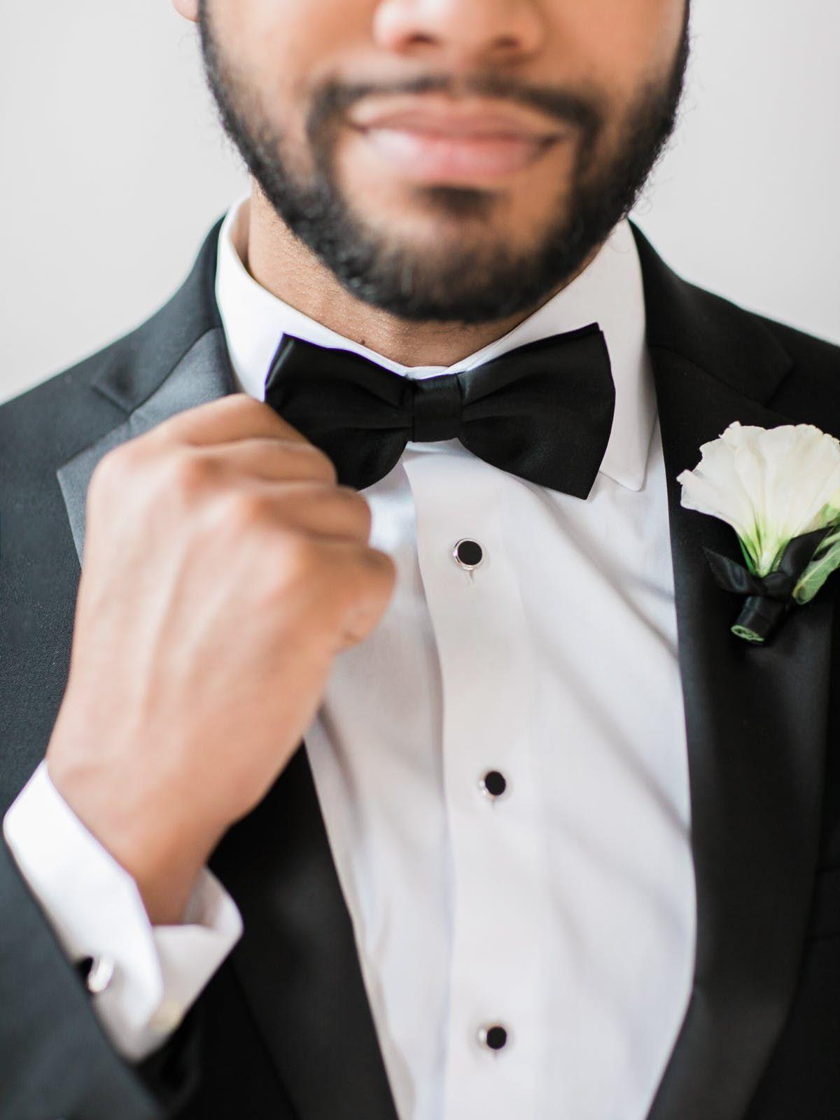 Black bowtie black tie affair wedding black tie wedding ideas