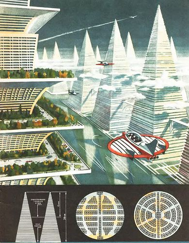 041f623bb745c0 Future City Soviet vision from 1969
