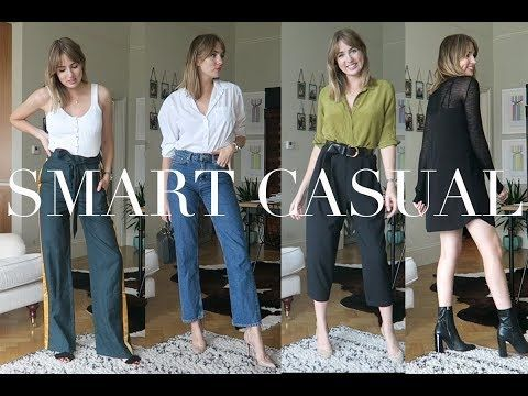 c9a28ff2b0ba Outfit Ideas For A Smart Casual Dress Code - YouTube