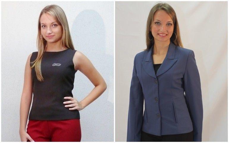 8dc497d8e modelos de uniforme de trabalho feminino Uniforme Secretária