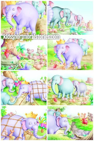 The Mice and the Elephants Story With Moral - A friend in