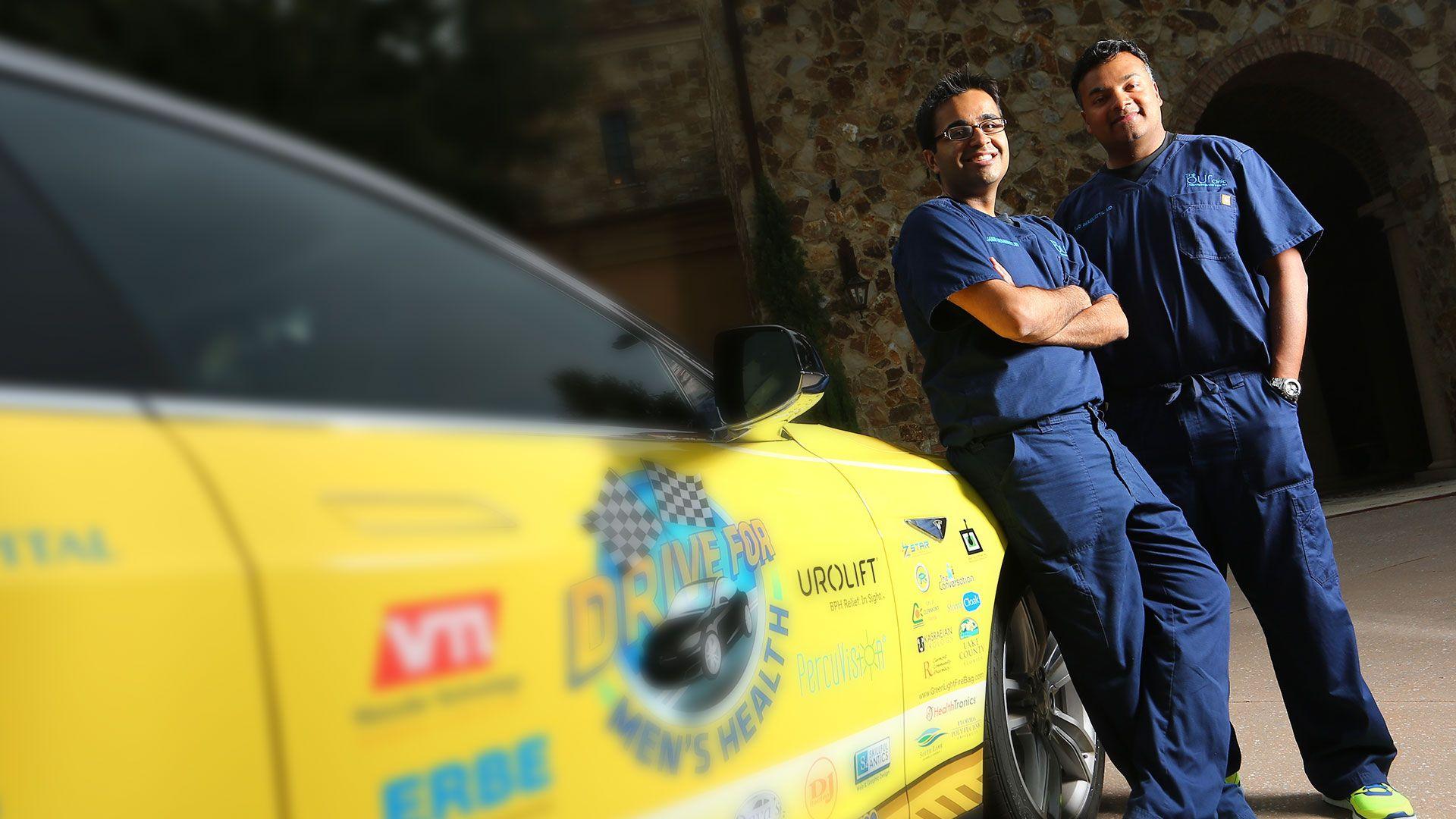 Drive For Men's Health FL > NY > CA 2015 Mens health