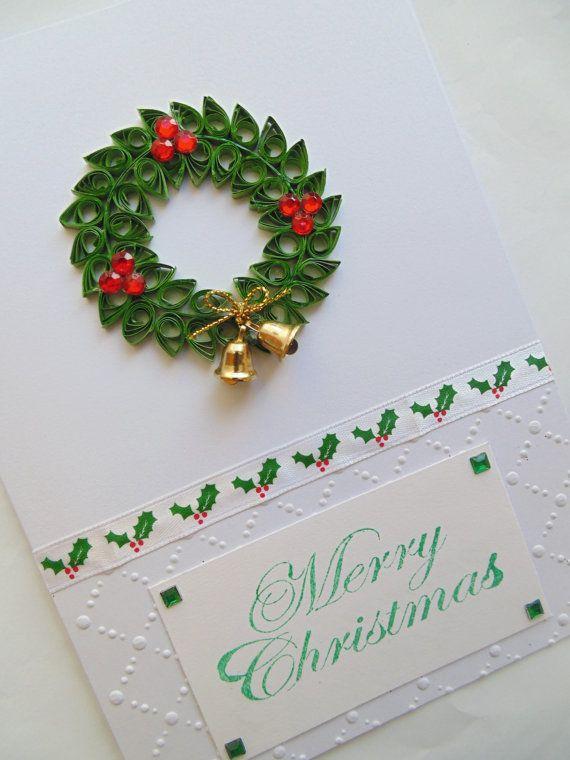 Paper Wreath Card