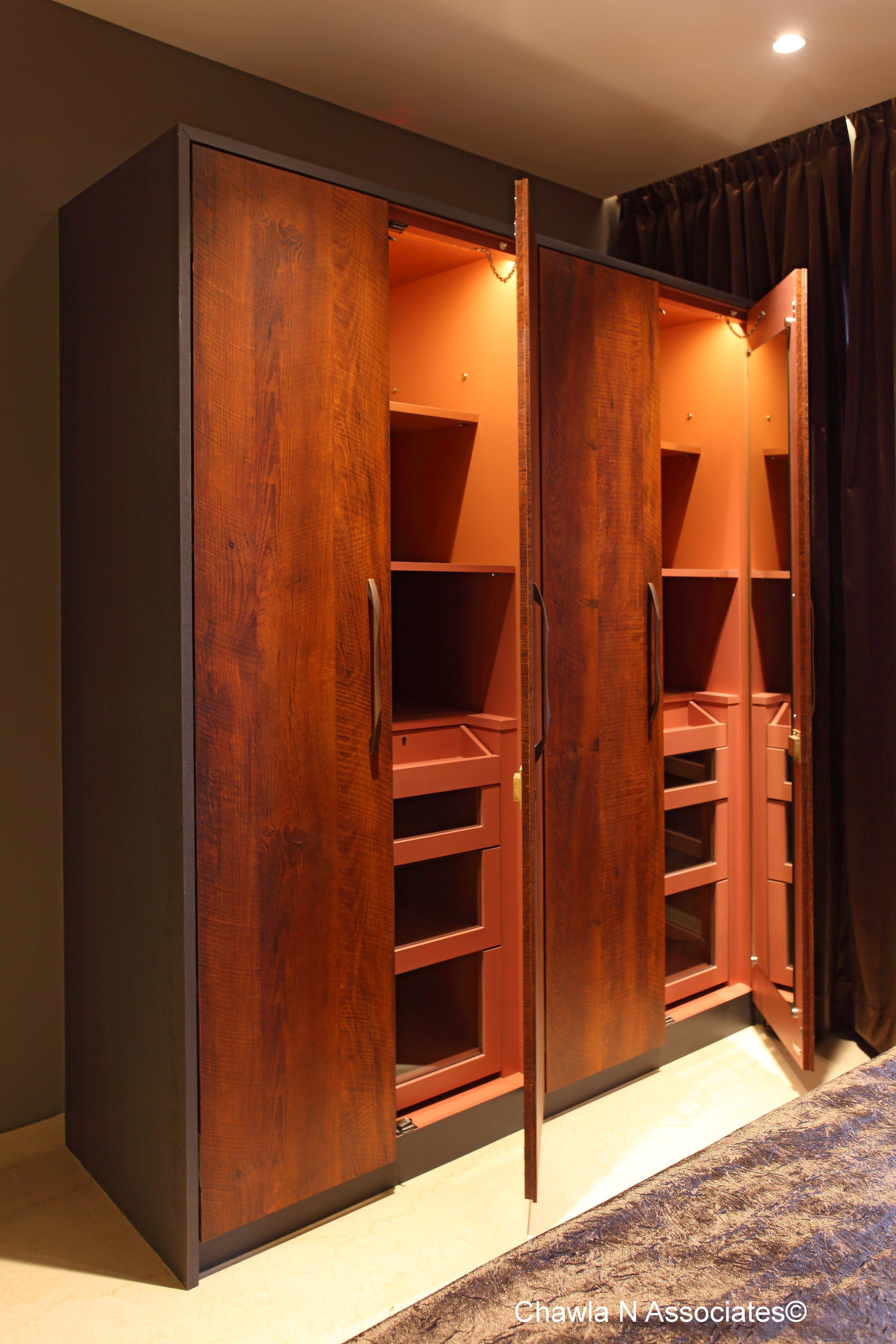 Wardrobe By Gharpedia In 2020 Best Wardrobe Designs Wardrobe Design Interior Work