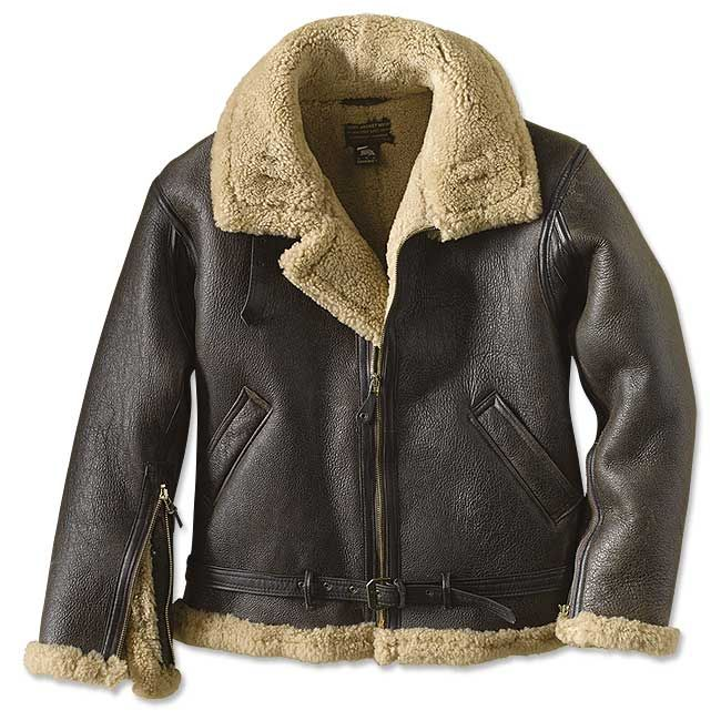 Just Found This Mens Raf Shearling Bomber Jacket Raf