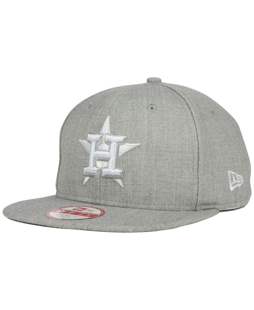 New Era Houston Astros Heather C-Dub 9FIFTY Snapback Cap