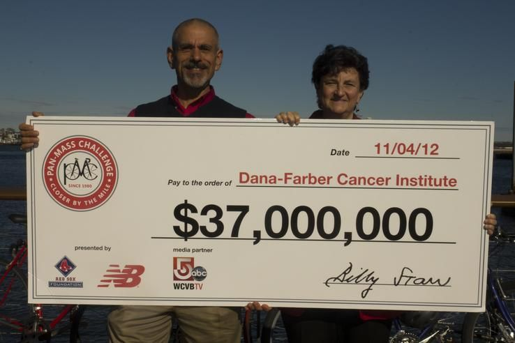 2012 Check Presentation. Help us get to this year's $38 million goal to help end cancer. http://www.pmc.org/profile/AC0011