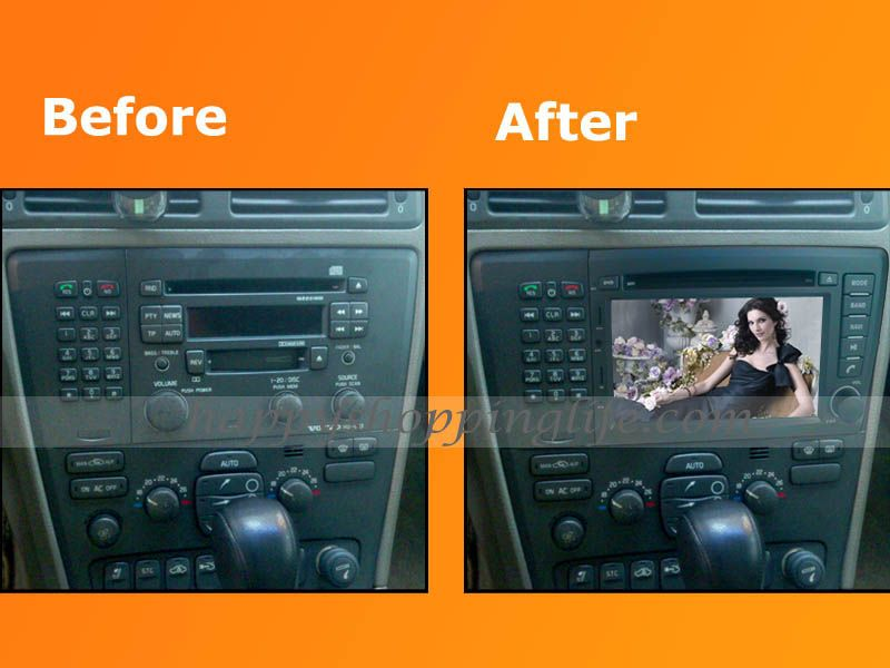 Android Car DVD Player with GPS Navigation 3G Wifi for Volvo