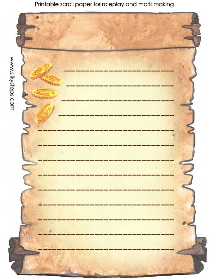 scroll-template-lined-colour-printable-activity-sheetjpg 690×900 - print lines on paper