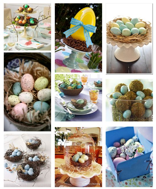 EASTER CENTERPIECE IDEAS | ... of our favorite DIY Easter centerpieces as found on Pinterest