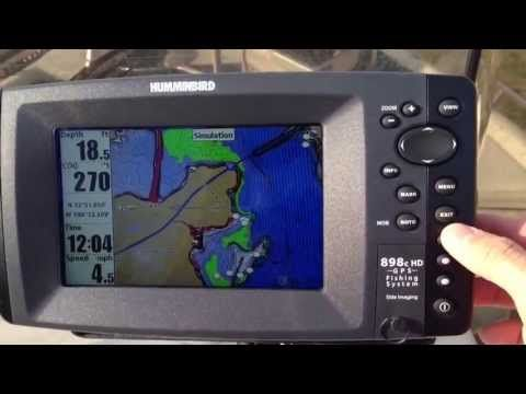 How to setup your Humminbird Fish Finder - YouTube | Depth